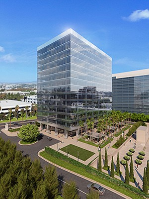 The 15-story One La Jolla Center, currently under construction, will be the newest tower at Irvine Co.'s existing La Jolla Center campus at UTC.