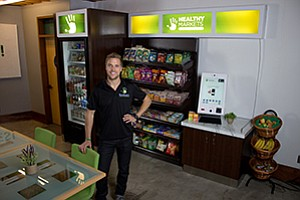 Sean Kelly is CEO of Human Healthy Vending, which operates some 1,100 franchised vending machines in 30 states.