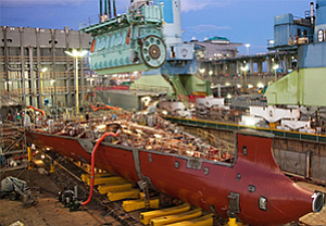 General Dynamics Nassco began 2014 with about 2,400 employees in its shipbuilding area and is up to about 3,500 with the addition of 300 to build a second oil tankler for American Petroleum Tankers.
