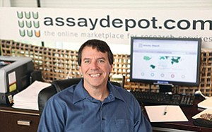 Kevin Lustig, CEO of Assay Depot Inc., said the company has forged deals with two of the top 10 drug companies.