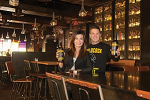 Local couple Sarah and Rick Zeiler of Zeiler Spirits LLC are seeing sales of their Coldcock Whiskey take off. The whiskey is meant to be drunk from a shot glass without mixers or ice.