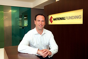 National Funding founder and CEO Dave Gilbert says the rapid growth of his financing company is allowing him to expand from small business loans into the midmarket segment.