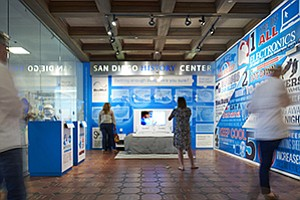 Medical device maker ResMed Inc. collaborated with the San Diego History Center on an exhibit that explores the science of sleep.