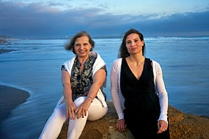 Marilyn Bruno, CEO of Aequor Inc., left, and her daughter Cynthia Burzell, the company's founder and president, are trying to market an eco-friendly, marine-derived chemical that may prove pivotal in the fight against bacteria.
