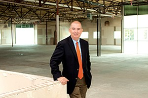 David Hoppen, chief operating officer of ICW Group Insurance Cos., stands inside the company's new, leased headquarters on Innovation Drive in Carmel Mountain Ranch near Interstate 15.