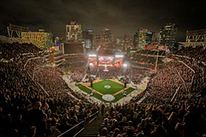 The Rolling Stones kicked off their latest tour at Petco Park in May, drawing a crowd of more than 40,000. Taylor Swift is the next mega-act for the park, due to perform in August.