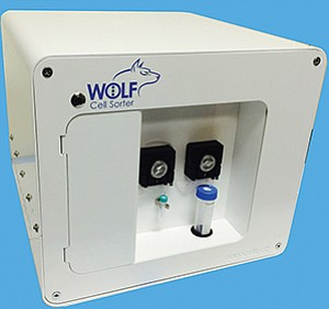 NanoCellect's WOLF Cell Sorter is an affordable, safer and more compact instrument for scientists conducting prep work in laboratories.