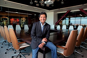 Receptos CEO Faheem Hasnain has grown several biotech companies that were acquired by industry giants.