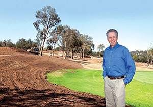 Dave Fleming, president of Golf Properties Design, is the consultant on the Meadow Lake Golf Course project. He said the changes could save as much as 50 million gallons of water a year. Golf courses are going through renovations and redesigns as the drought forces cutbacks in water usage.
