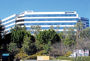 Qualcomm announced that it will be closing some of its offices as a result of a strategic realignment to cut $1.1 billion. The company website lists 49 offices in San Diego (Qualcomm dominates the real estate in Sorrento Mesa), one in Carlsbad, one in El Centro and one in Irvine.