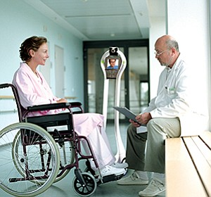 VGo's telepresence system makes consultation with off-site parties possible. It is an example of the growing number of innovations in the health care sector, many of which are attracting investment by the health systems that use them.