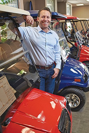 Brian Rott, CEO of Cart Mart Inc., said the San Marcos-based company has grown to $12 million in annual revenues and is poised to expand even further.