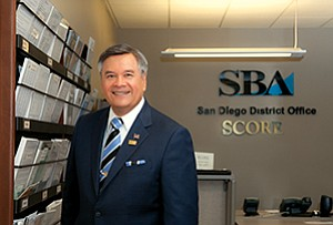 Ruben Garcia, the SBA's director for San Diego, says the region is on track in 2015 to top its previous 7a lending record of $264 million, which was set in 2011 and supported by efforts to promote the federal stimulous package.