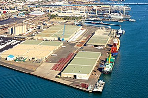 As part of a decades-long plan to modernize the 10th Avenue Marine Terminal, the Port of San Diego is proposing to demolish the two warehouses closest to where the ships are berthed.