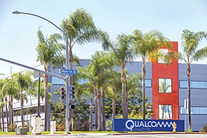 One of the county's largest employers, Qualcomm is laying off 8.5 percent of its local full-time staff. The cuts are part of a company-wide Strategic Realignment Plan.