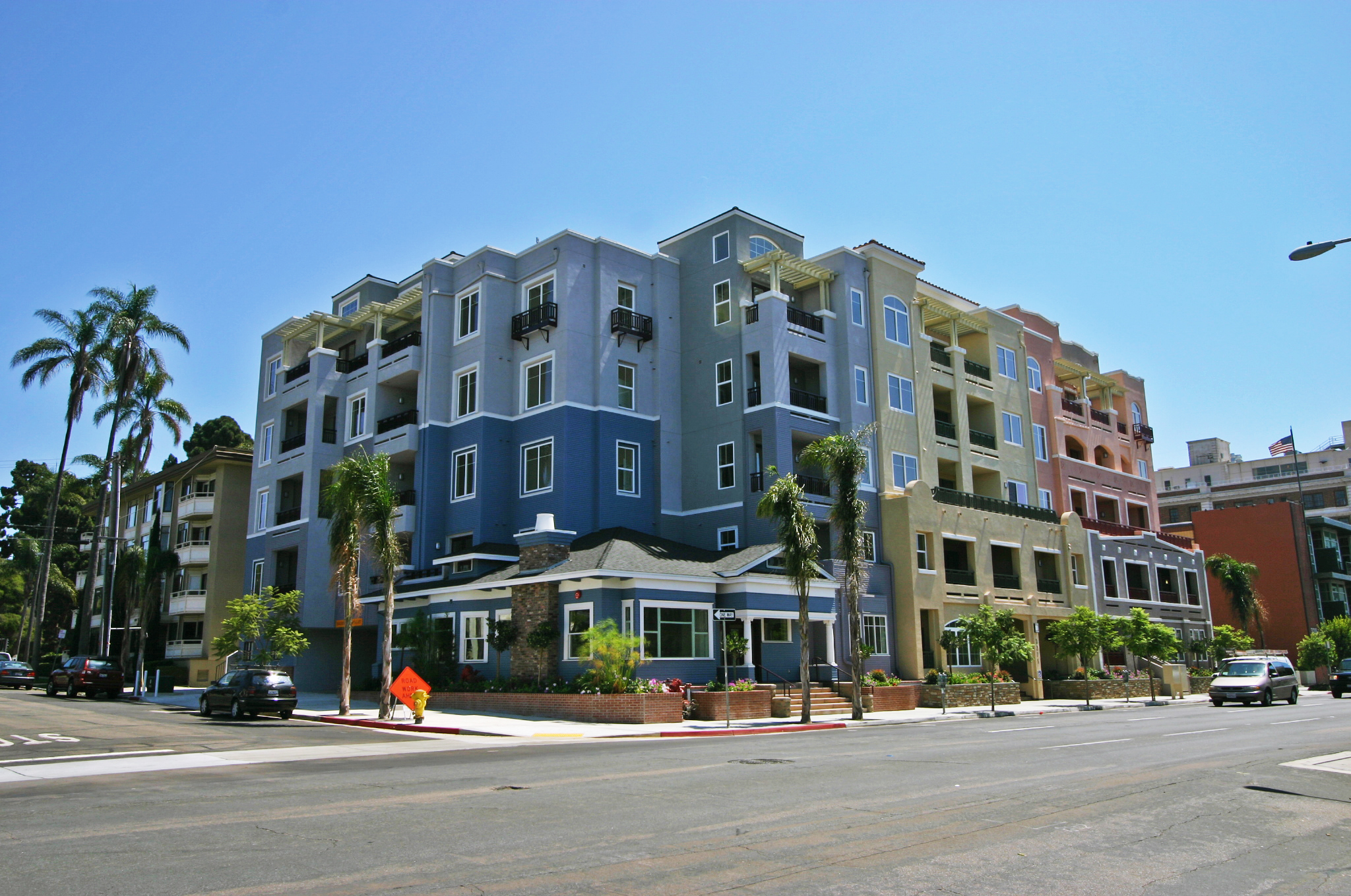 Bankers hill apartment complex sold for 14 5m san diego - Apartment complexes san diego ...