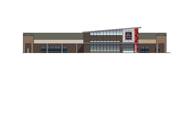 Aldi Mira Mesa store
