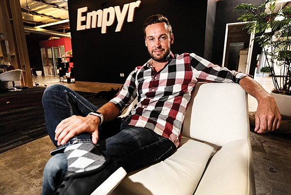 CEO Jon Carder says Empyr plans to double its headcount of 60 in their Sorrento Valley office over the next 12 months.