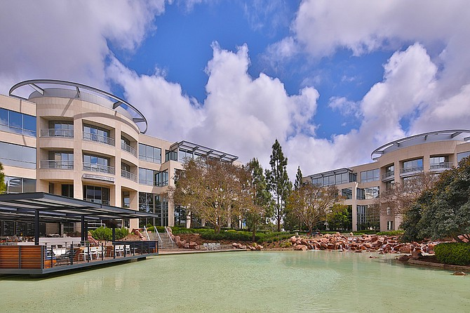 Former Sunroad Corporate Plaza Photo courtesy of Irvine Company and NKF Capital Markets