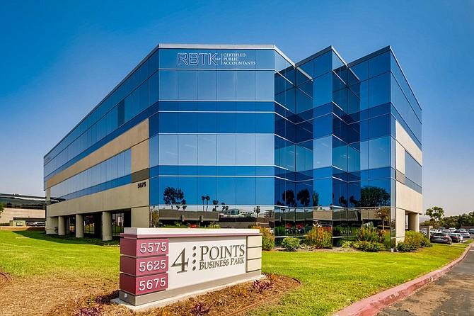 Four Points Business Park Photo courtesy of CBRE