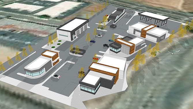 3340 Mission Ave. Rendering courtesy of Colliers International