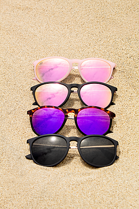 In its first year in business, Blenders Eyewear, sold about one thousand pairs of sunglasses. Photo courtesy of Blenders Eyewear.