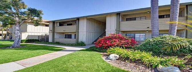 Hollister Creek Village Apartments Photo courtesy of CBRE