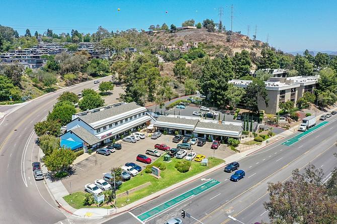 Las Cumbres Square Photo courtesy of CBRE