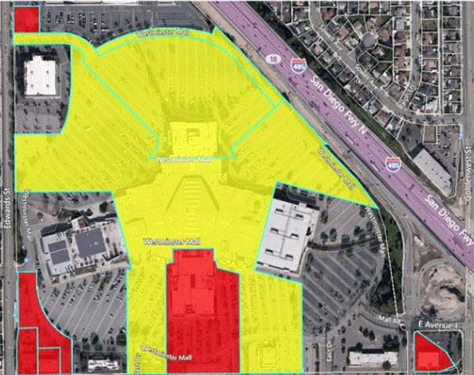 Westminster Mall site
