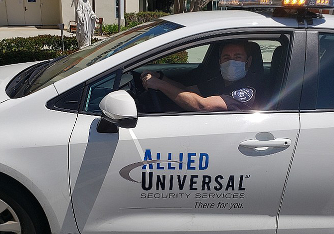 Allied Universal security firm