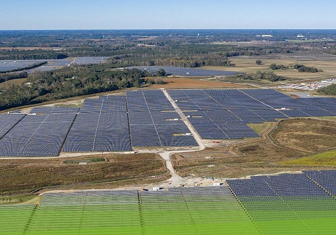 BayWa r.e. North Carolina solar plant