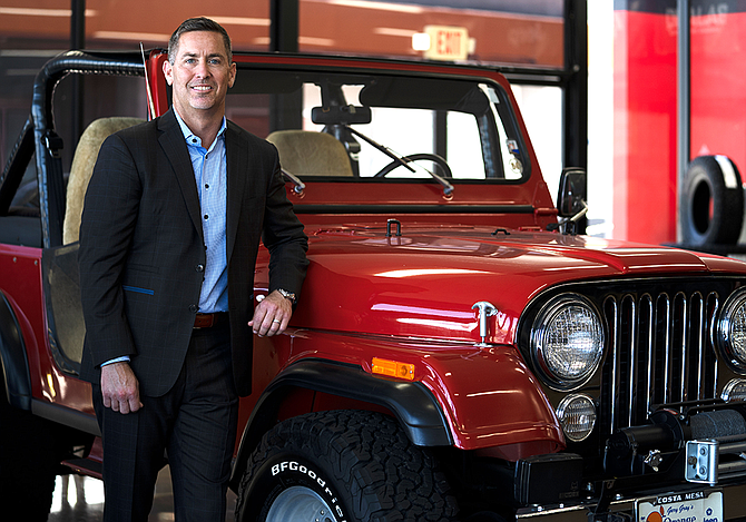 Orange Coast Auto Group owner and general manager Jon Gray