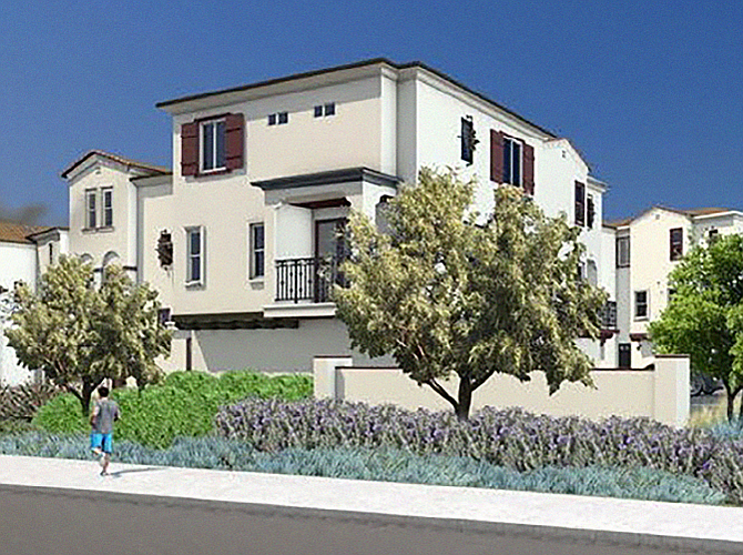 Eclipse is a townhome development built in Escondido by IHP Capital Partners and California West Communities.