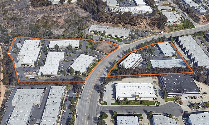 Camino Santa Fe Business Park Photo courtesy of Westport Capital Partners