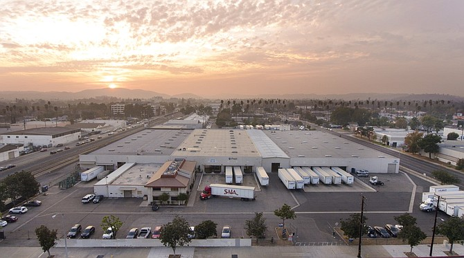 Pomona warehouse Photo courtesy of Stos Partners