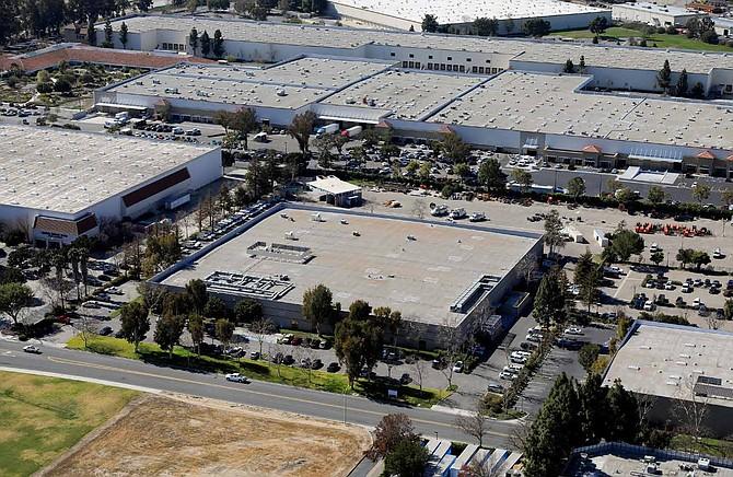 Camarillo warehouse Photo courtesy of Westcore