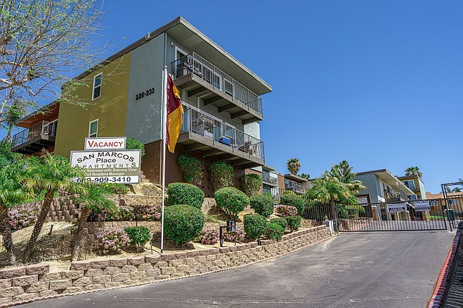 San Marcos Place Apartments Photo courtesy of ACRE Investment Real Estate Services