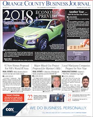 OCBJ Digital Edition December 18, 2017