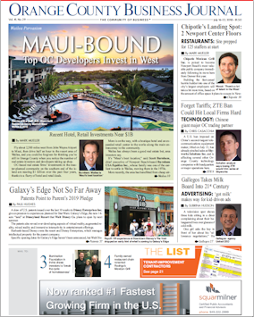 OCBJ Digital Edition July 16, 2018