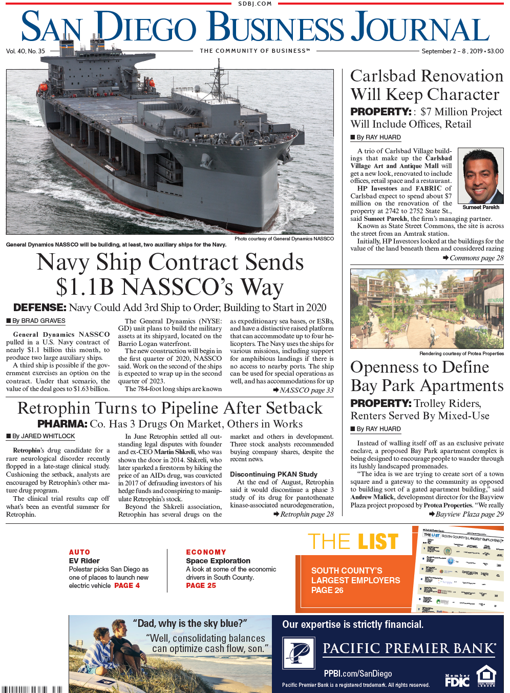 San Diego Business Journal Homepage   San Diego Business Journal