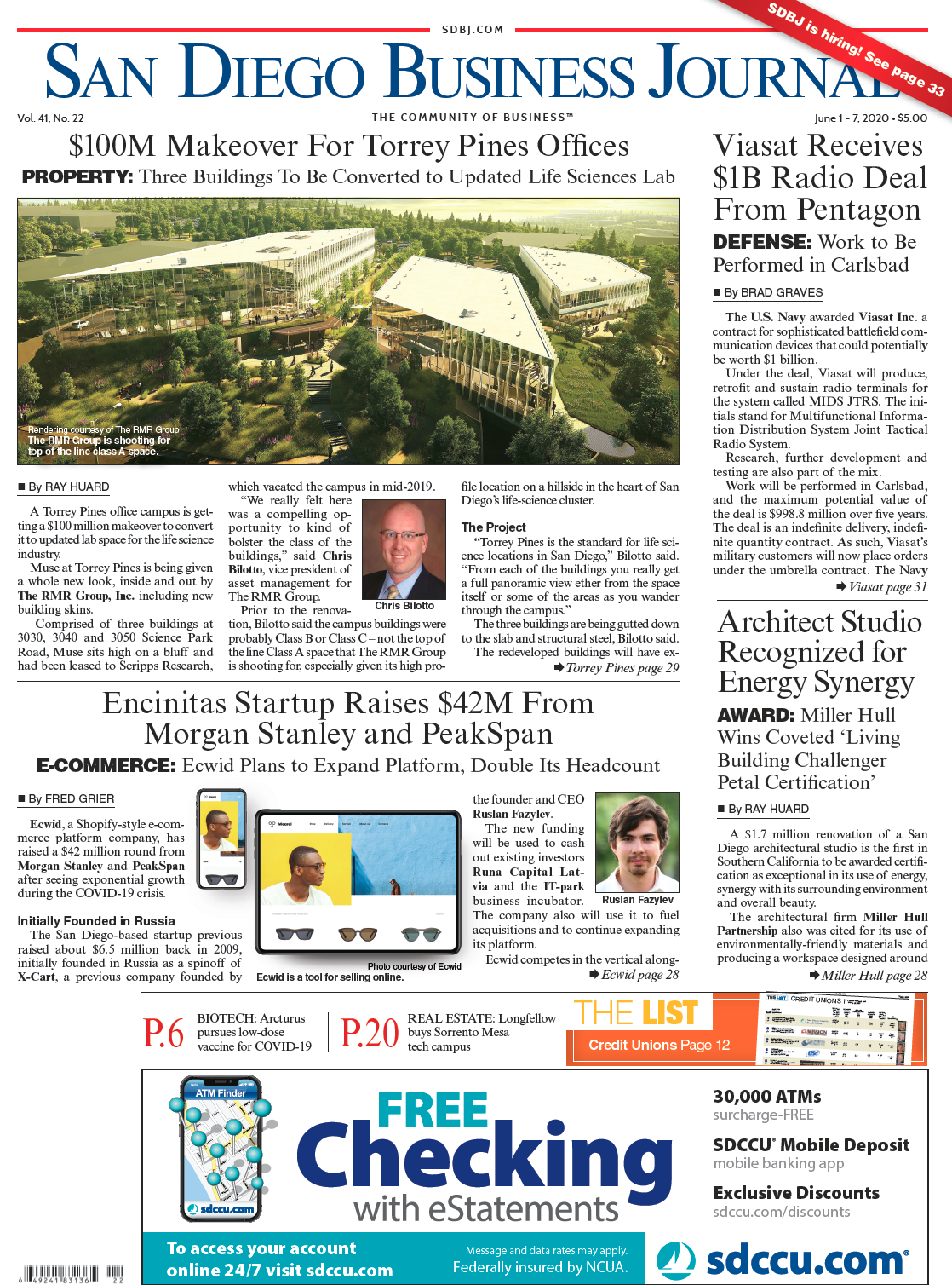 SDBJ Digital Edition June 1, 2020