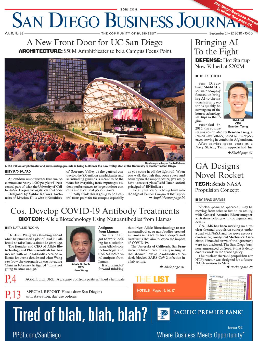 SDBJ Digital Edition September 21, 2020