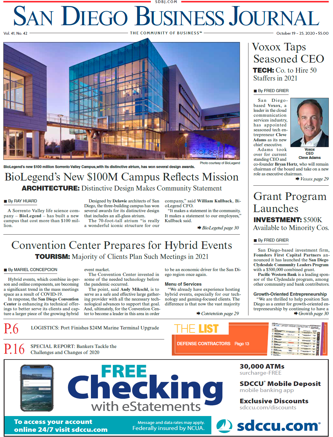 SDBJ Digital Edition October 19, 2020