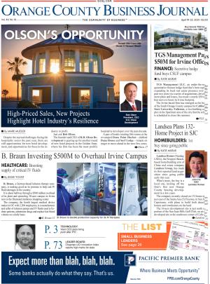 Orange County Business Journal Digital Edition