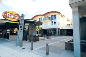 The $40 million Pacific Station, on South Coast Highway 101 in downtown Encinitas, opened with housing, retail and office elements.
