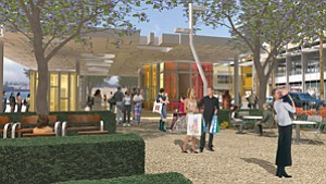 California Coastal Commission staff are recommending conditional approval of the latest revised plans for improvements to downtown San Diego's North Embarcadero waterfront district.