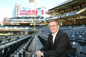 Tom Garfinkel, the San Diego Padres' president and chief operating officer, says the team's winning ways will attract plenty of fans to Petco Park.