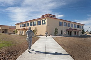 The 25,088-square-foot Global Support Squadron Command and Operations Facility has been built by locally based general contractor T.B. Penick & Sons at Travis Air Force Base.
