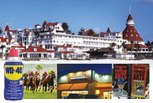 Photos courtesy of Hotel del Coronado, WD-40 Co. and Del Mar Thoroughbred Club