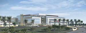 One of the largest projects identified on the Commercial Landscape Architects list is the 500,000-square-foot Camp Pendleton Replacement Hospital. DeLorenzo Inc. has been hired as the landscape architect of record for the project.